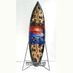 bali surfboard airbrush carving wooden handicraft sbabcisl2