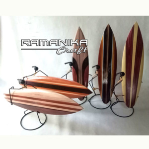 bali surfboard airbrush natural iron man handicraft sbabnim