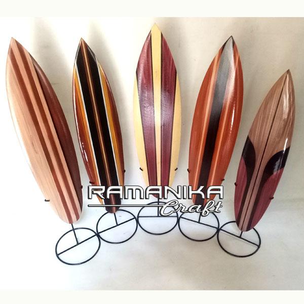 bali surfboard airbrush natural iron stand small handicraft sbabniss