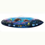 bali surfboard airbrush aquarium wall hanging sbabqhb