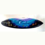 bali surfboard airbrush aquarium wall hanging sbabqhd