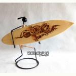 bali surfboard burning handicraft sbbnima
