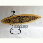bali surfboard black sand iron man handicraft sbbsim2b