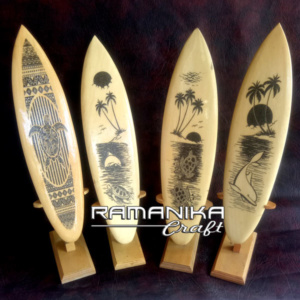 Bali Surfboard Hanging Wall Handicraft