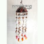 bali chime coco sea shell dot painting handicraft cmcssdp2