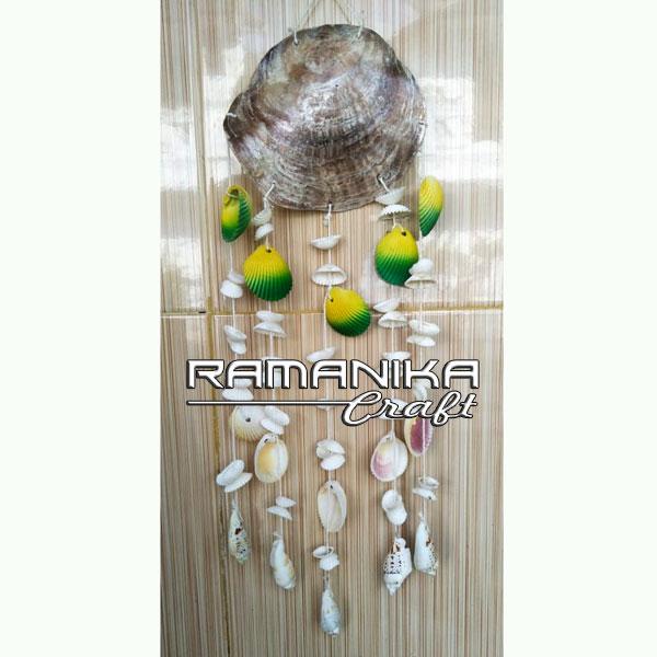 bali chime sea shell handicraft cmss2