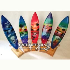 Bali Surfboard Hanging Wall Handicraft