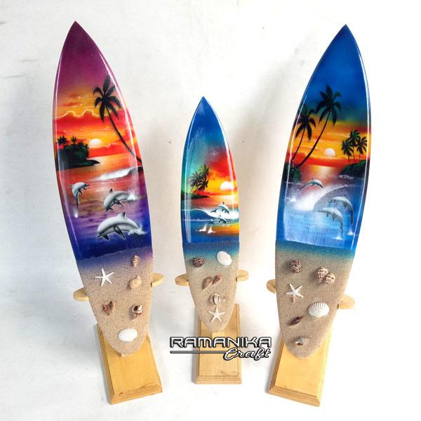 bali surfboard wooden handicarft sbabwss