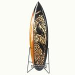 bali surfboard natural carving handicraft sbncisl3