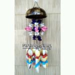 bali chime coco sea shell handicaft cmcss4