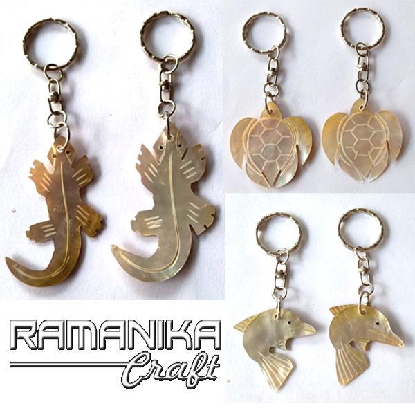 bali key chain shell accessories krps
