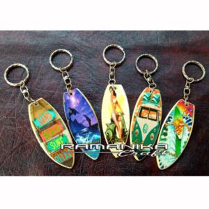 bali key rings surfboard handicraft krsps