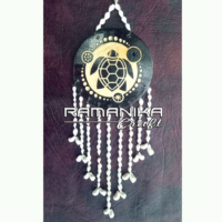 Bali Chime Wall Wood Carving Handicraft